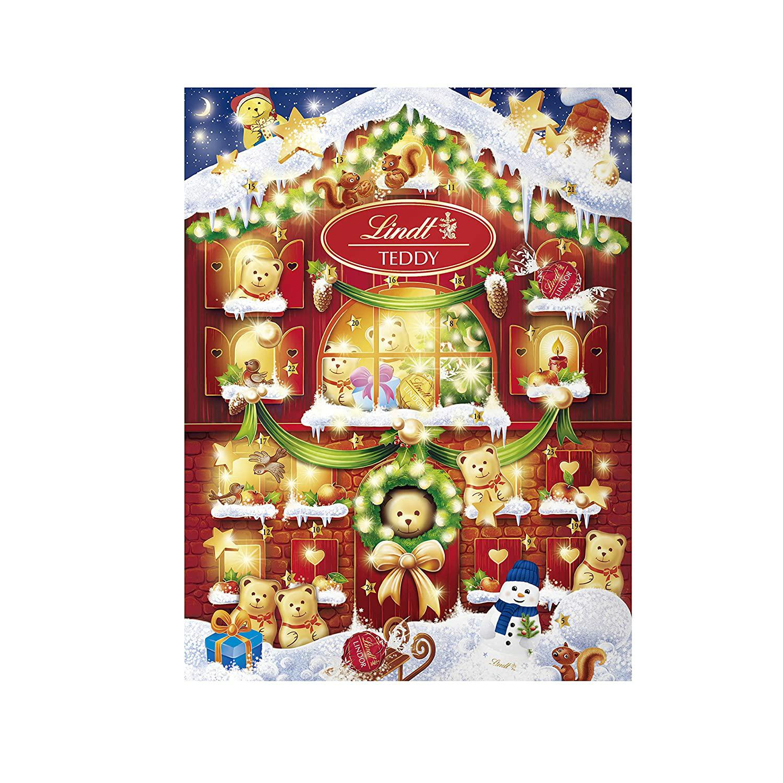 Lindt 2020 Holiday Teddy Bear Advent Calendar $10.99 before 10% coupon