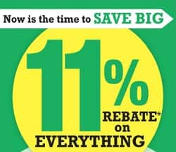 Menards 11% rebate (02-24-19 to 03-02-19) - Slickdeals net