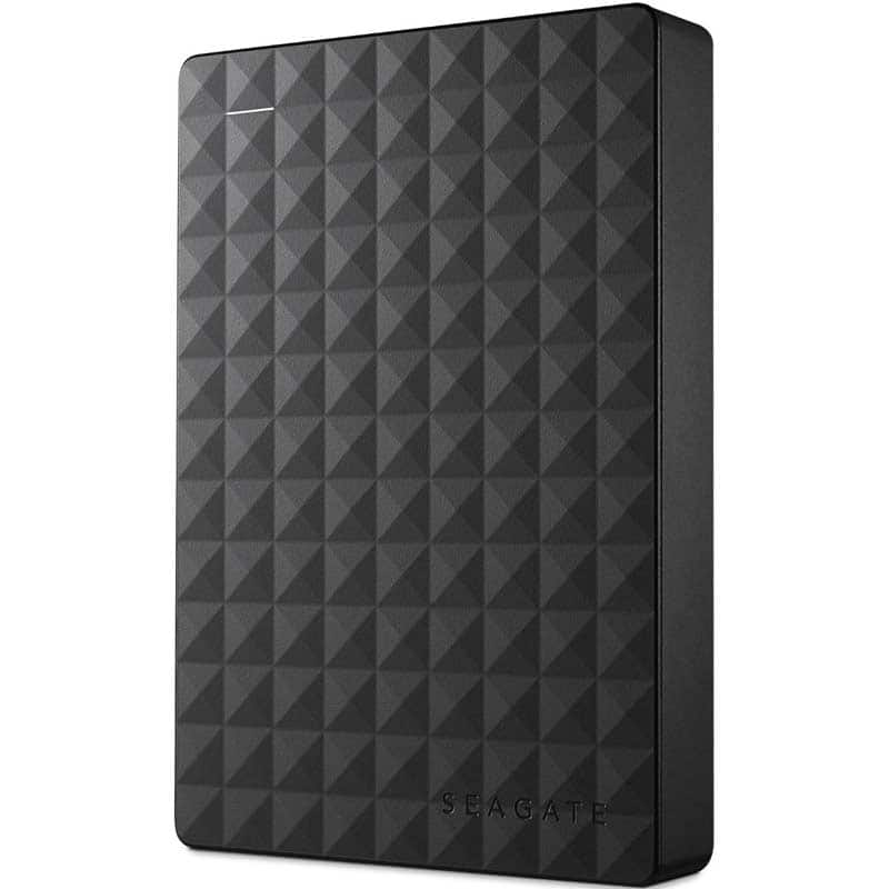 Seagate Expansion 4TB Portable Hard Drive $89 with code @Fry's in-store pickup only
