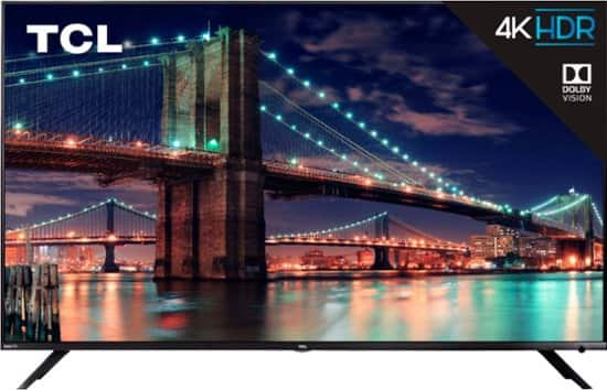 TCL 6-Series 65R613 and 55R613 (2018 models) $499 at Costco $499.99