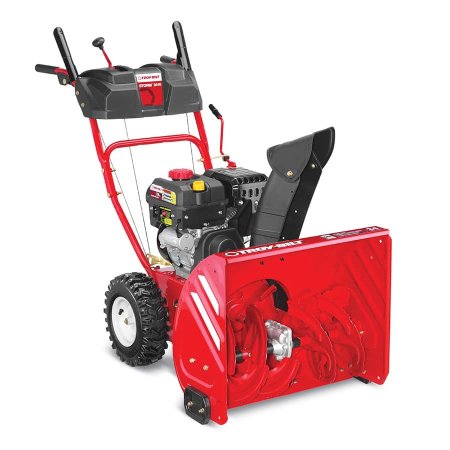 Troy-Bilt Storm 2410 208cc 24-in Two-Stage Electric Start Gas Snow Blower $509 in Lowes