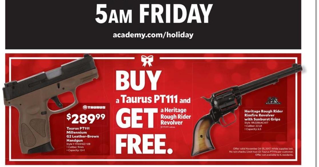 academy sports buy one get one free taurus