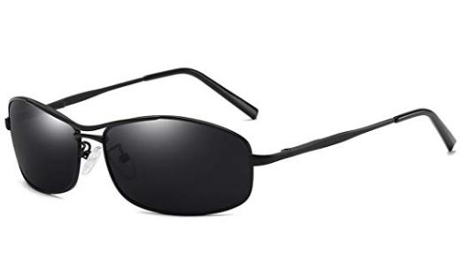 ecffbb885e5 Amazon  FEIDU Polarized Sport Mens Metal Frame Sunglasses  3.99 ...