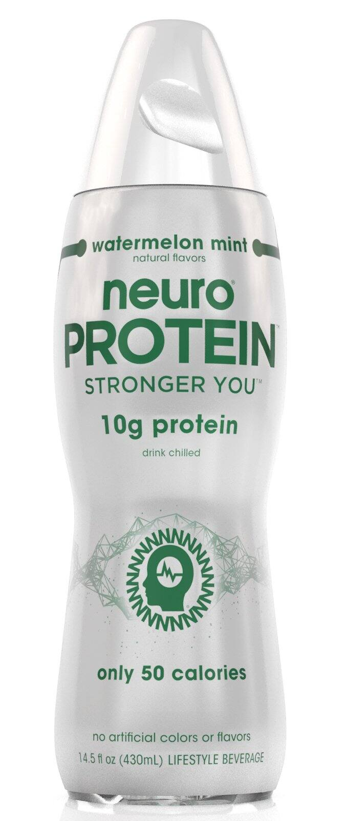 Neuro Protein Drinks: Cherry Vanilla or Watermelon Mint (Pack of 12) $9.95 + FS Prime