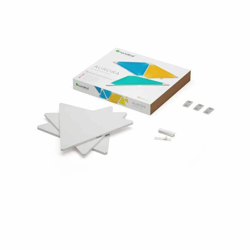 Nanoleaf Aurora Smarter Kit - Modular Smart Lighting - 9 Panel Pack - $150, free shipping - Fry's code required