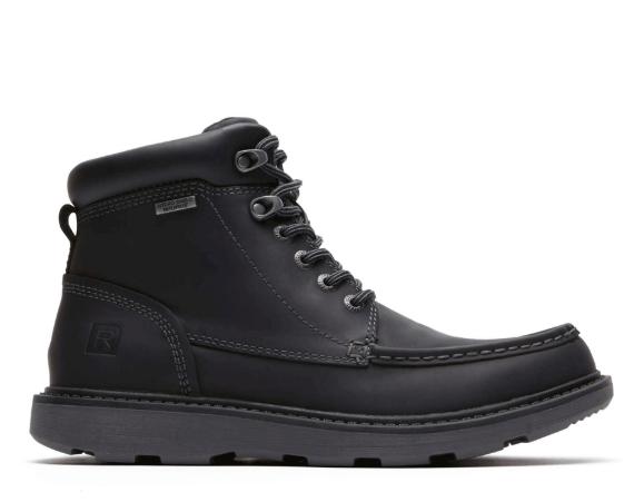 Rockport Boat Builders Men's Waterproof Boots (black) $60