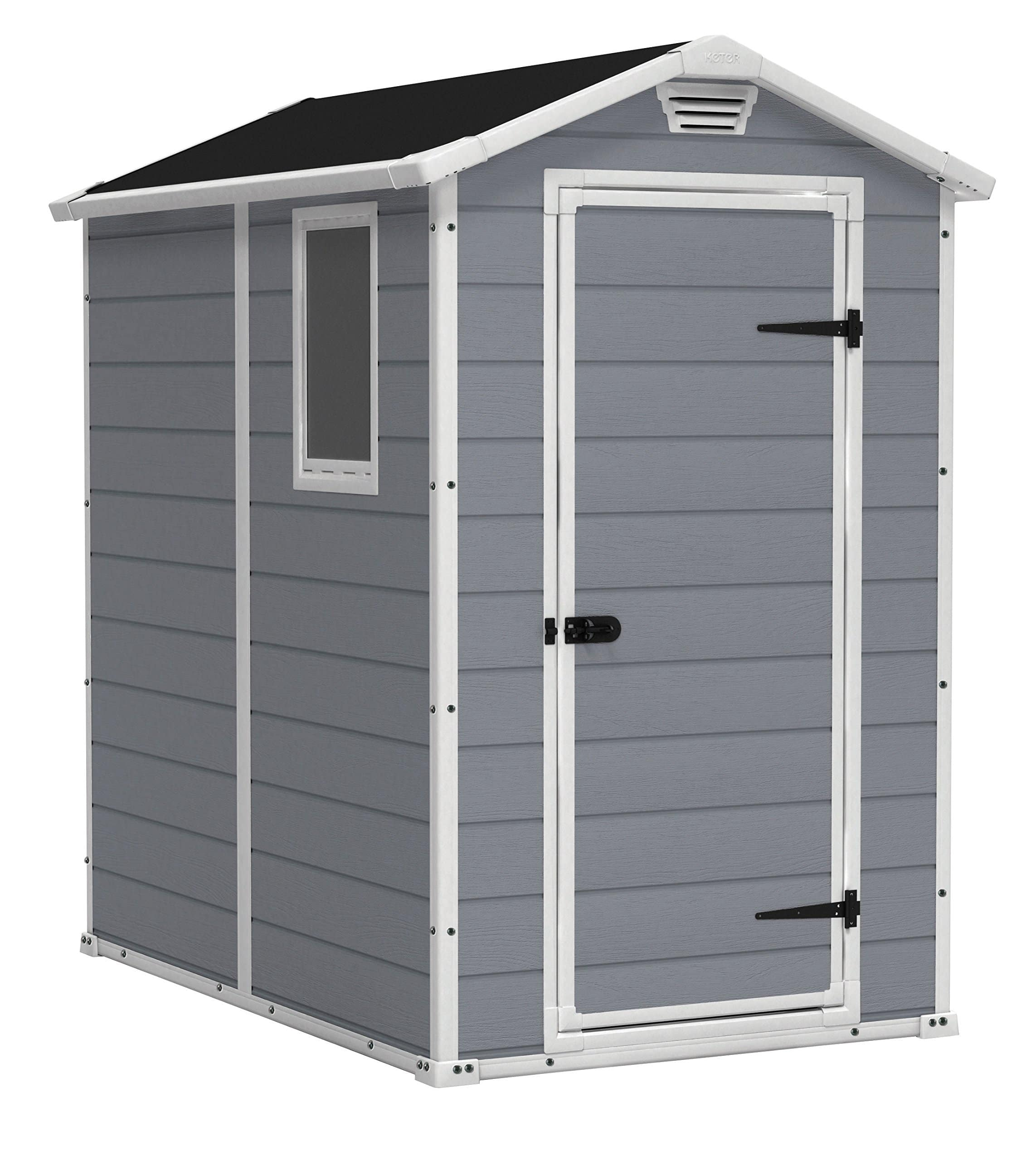 Keter outdoor poly shed 4 x 6 $499.99 at Amazon