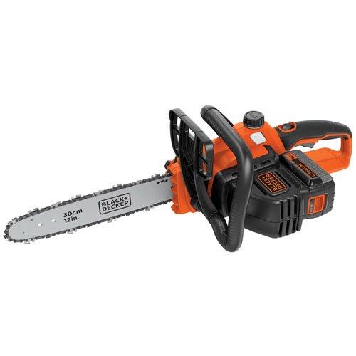 "BLACK+DECKER LCS1240 40V MAX Lithium Ion Chainsaw, 12"" $91 @ Amazon"