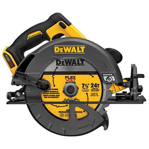 """DEWALT 60V MAX Li-Ion 7-1/4"""" Circular Saw (Bare) -- $119 @ eBay"""