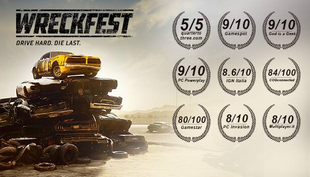 Wreckfest Complete Edition $32.61 - Wreckfest $14.99 @ Steam