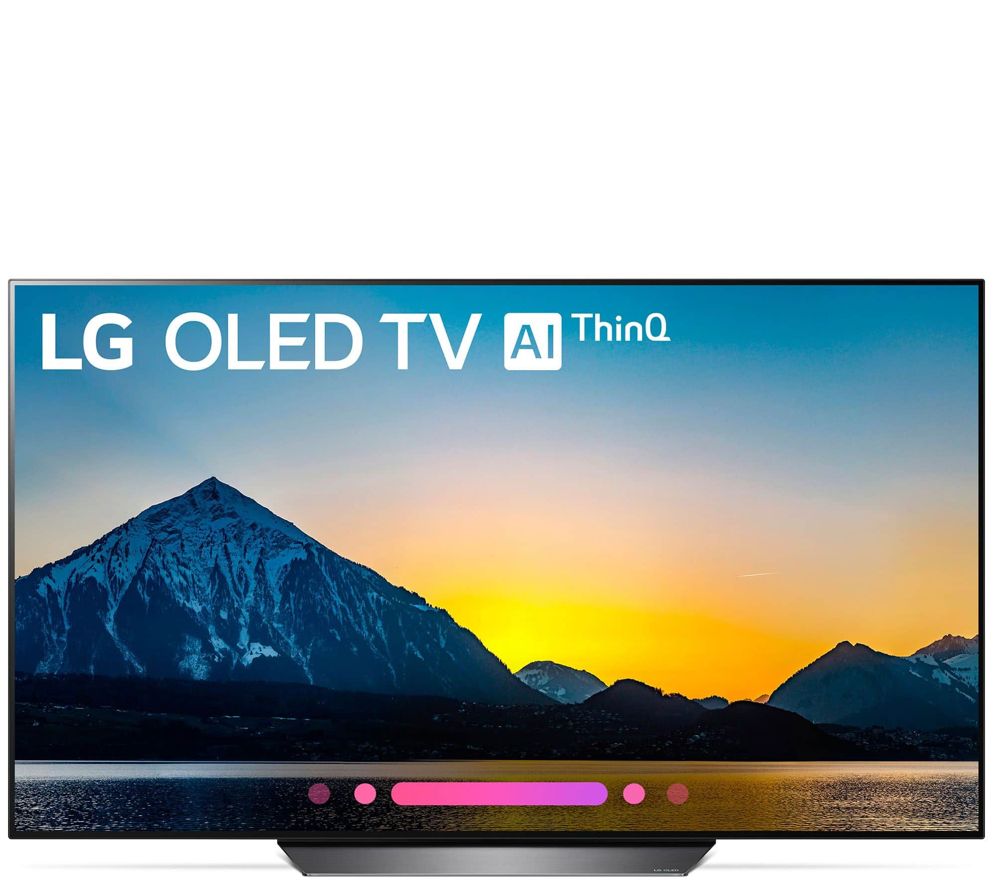 55 Lg 55b8pua 4k Uhd Hdr Oled Smart Tv W Ai Thinq Slickdealsnet