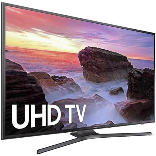 Samsung UN55MU6300 55 inch 4K-Ultra-HD-Smart-LED-TV-2017-Model $499.99 on eBay + Free shipping