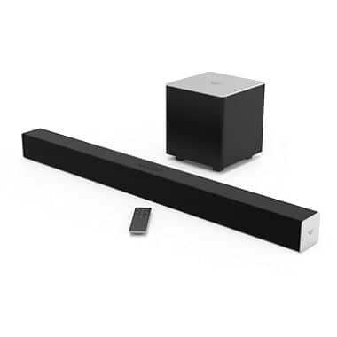 "38"" VIZIO 2.1 Soundbar w/ Wireless Subwoofer SB3821-C6 - $110.88 @ samsclub"