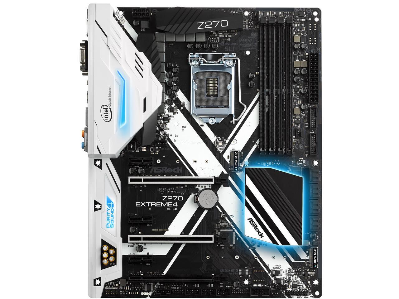 ASRock Z270 Extreme 4 LGA 1151 Intel Z270 Motherboard - $104.99 AR