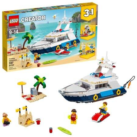 LEGO Creator Cruising Adventures 31083 for $36 (40% off) via Google Express
