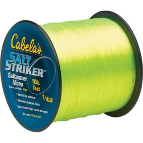 Cabela's Fishing line- on clearance- $3.22-$9.97, free shipping at $50+ order or free store pickup
