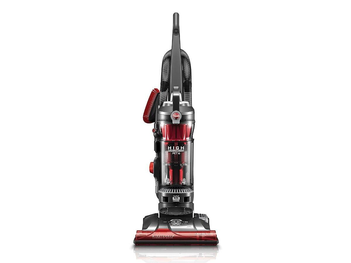 Hoover High Performance Pet Bagless Upright Vacuum Cleaner, UH72630 40% Off, Free Shipping, 1/30/18 ONLY $89.99