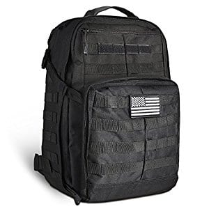 45L Multifunctional Tactical Backpack Large Camping Hiking Pack $25.73 @ Amazon