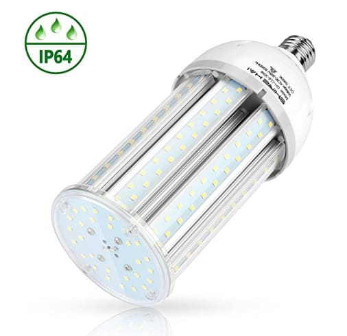 SHINE HAI LED Corn Light Bulb, 35W 3500Lm E26 Base 5000K Daylight White $11.99 @ Amazon