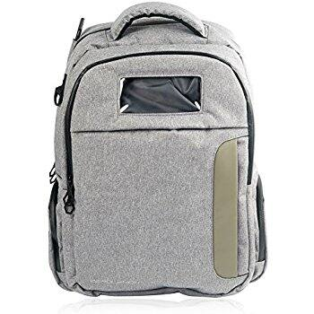 Anti-theft waterprrof urban backpack with lock and convenient charging port $18.99 @Amazon $27