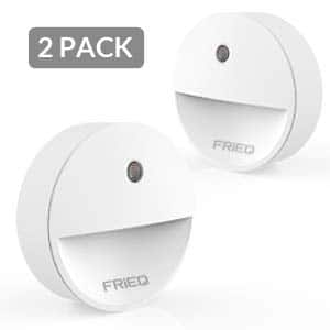 LED Plug in Night Light with Dusk to Dawn Sensor for Bedroom, Bathroom, Kitchen, Stairs (2 Pack) $4.99