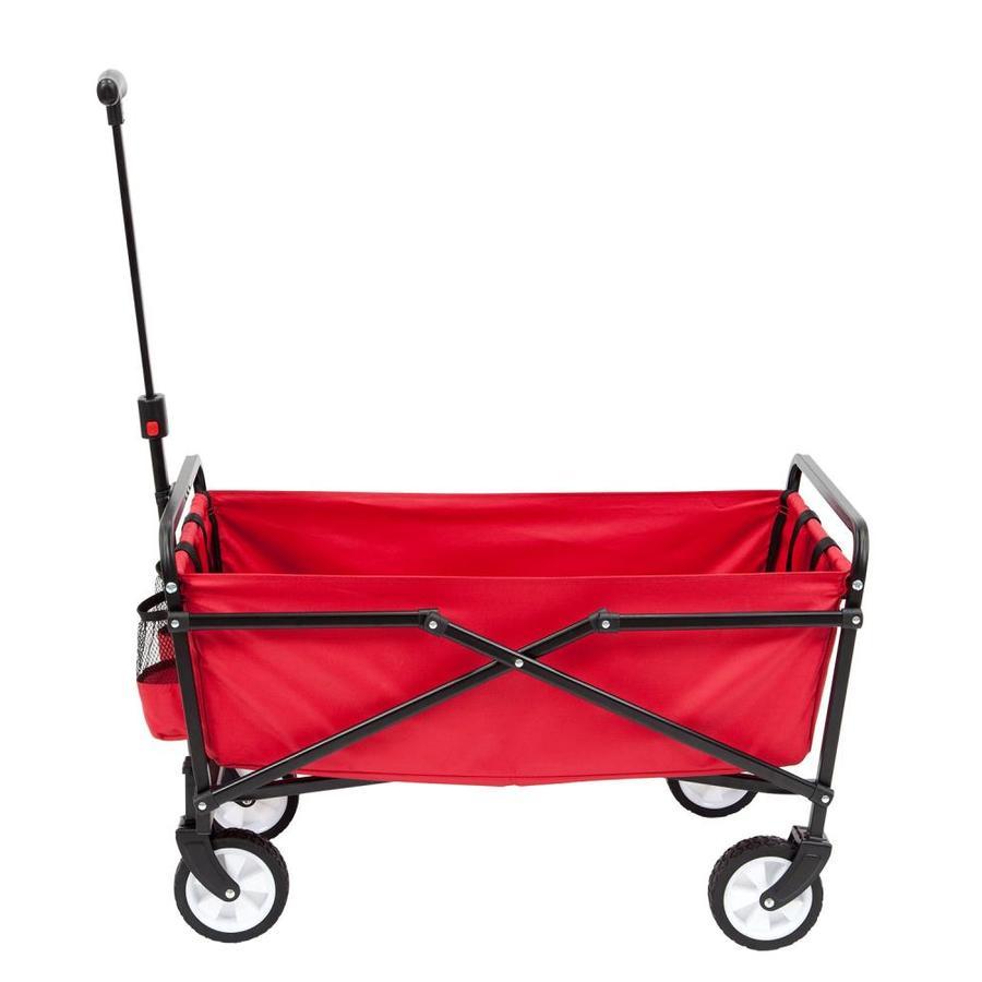 Seina 6-cu ft Poly Yard Cart / Folding Wagon $39.00