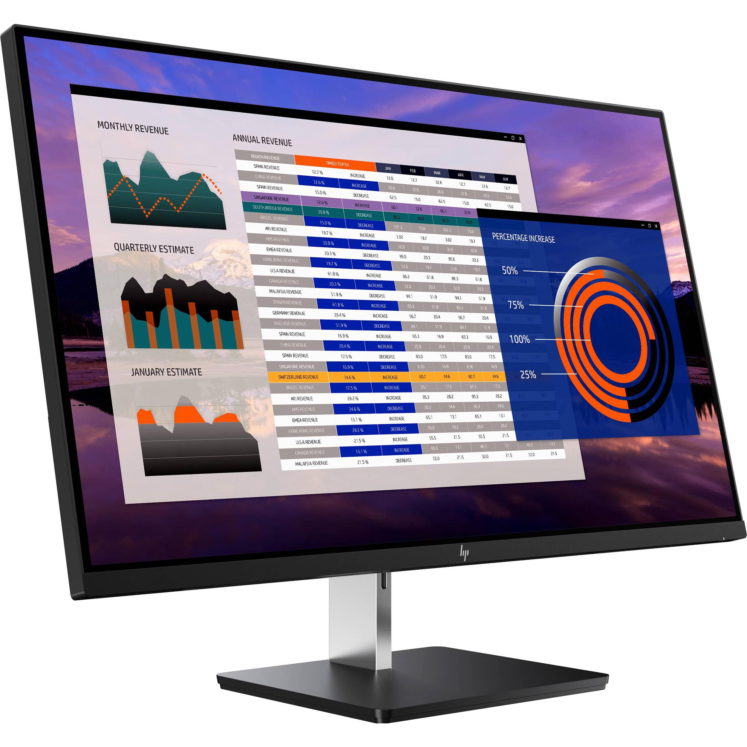 HP Elitedisplay S270n 27in 4K UHD 60Hz HDMI DP USB-C IPS LED Monitor $289.99