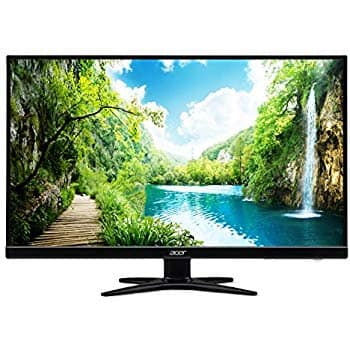 """Acer G276HL Kbix 27"""" Full HD (1920 x 1080) VA Zero Frame Monitor (HDMI & VGA Ports) $114.99"""