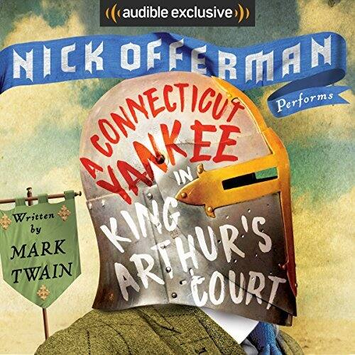 Popular deals audible kindle ed of a connecticut yankee in king arthurs court read by nick fandeluxe Gallery