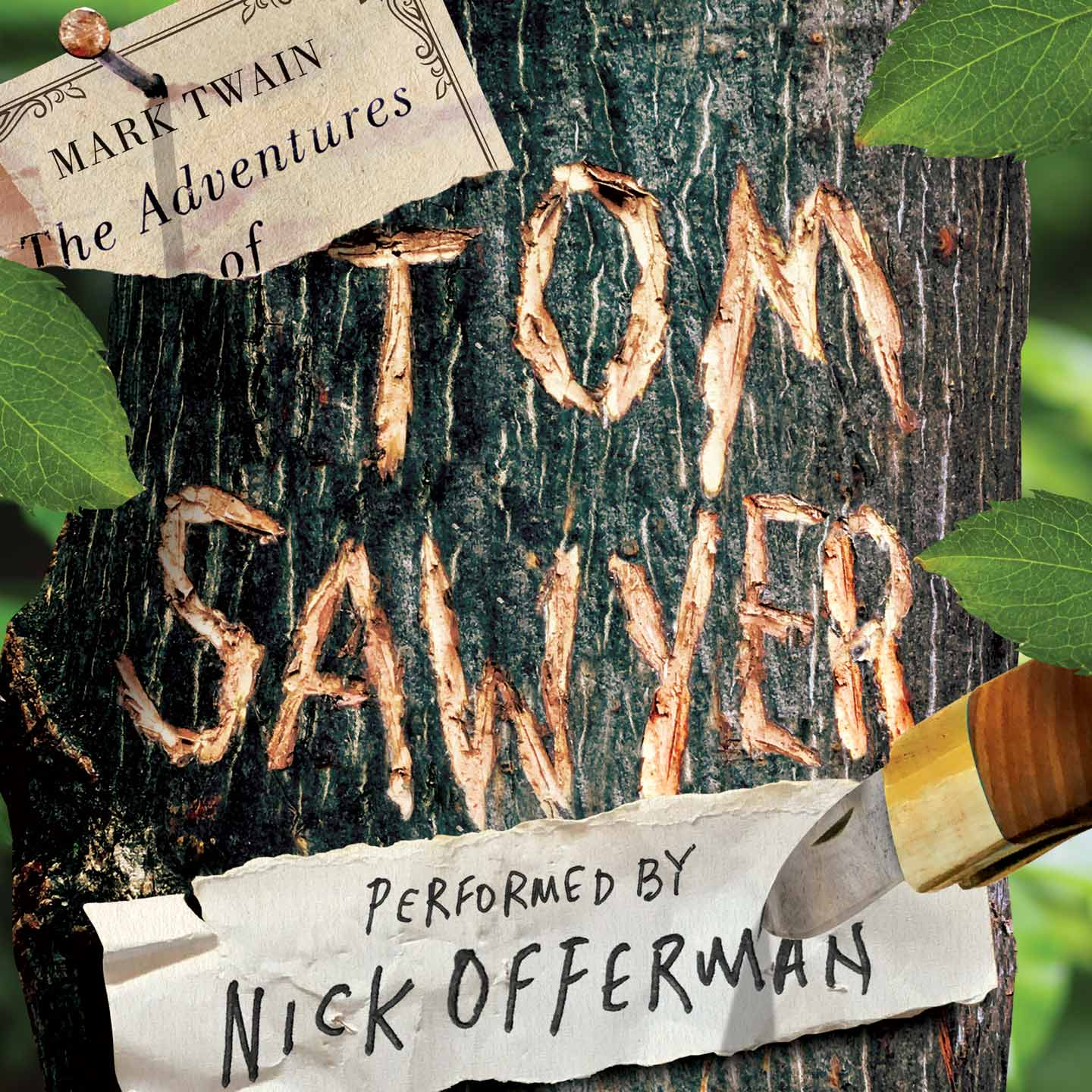 Free Kindle Title and $.99 Audible Book The Adventures of Tom Sawyer (Read By Nick Offerman) Both for  $0.99