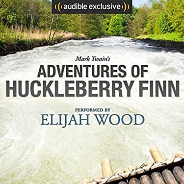 Audible + Kindle Version of Adventures of Huckleberry Finn (Read By Elijah Wood) for $2.59