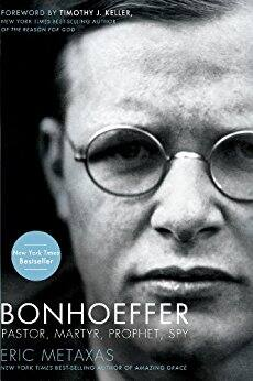 Kindle Deal on Bonhoeffer: Pastor, Martyr, Prophet, Spy by Eric Metaxes for $1.99