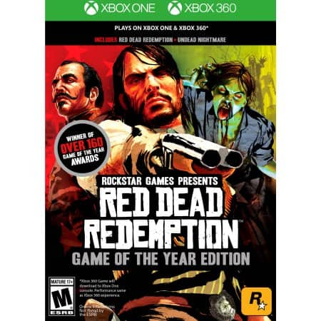Red Dead Redemption: Game of the Year Edition (Xbox 360/Xbox One) $14.99 + Free Store Pickup