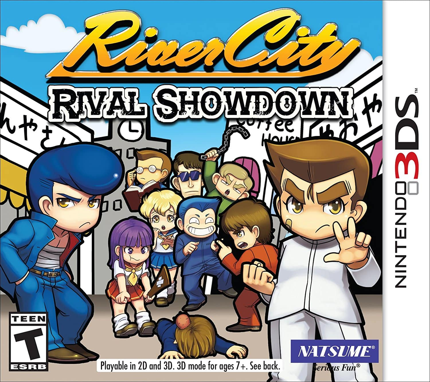 River City: Rival Showdown Limited Riki Keychain Edition (Nintendo 3DS) $15.14
