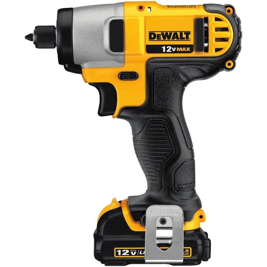 DEWALT 12-Volt Max Variable Speed Cordless Impact Driver (2-Batteries Included) $70 lowes YMMV