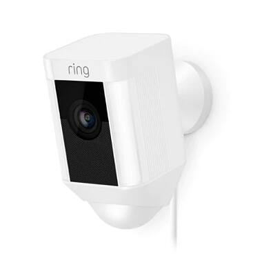 Ring Spotlight Cam Wired, White $50 YMMV Office Depot In Store