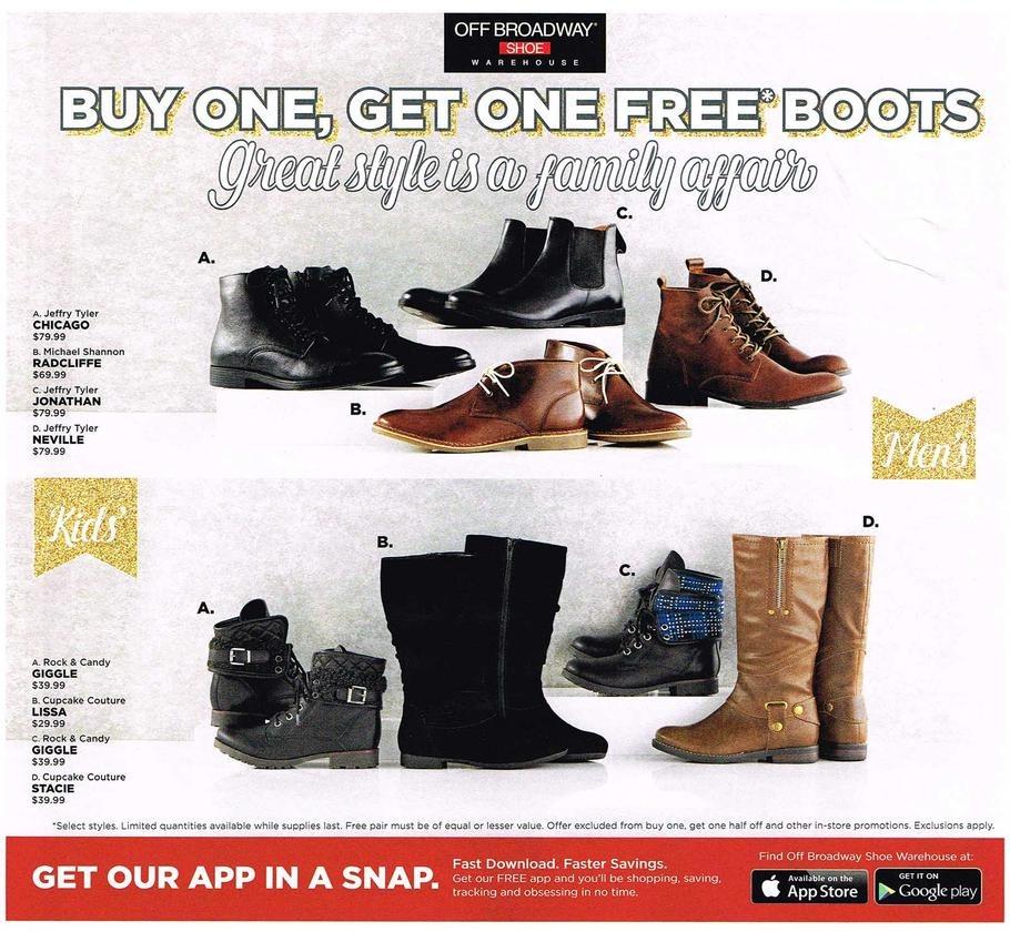 broadway shoes black friday 2016 ad scans slickdeals