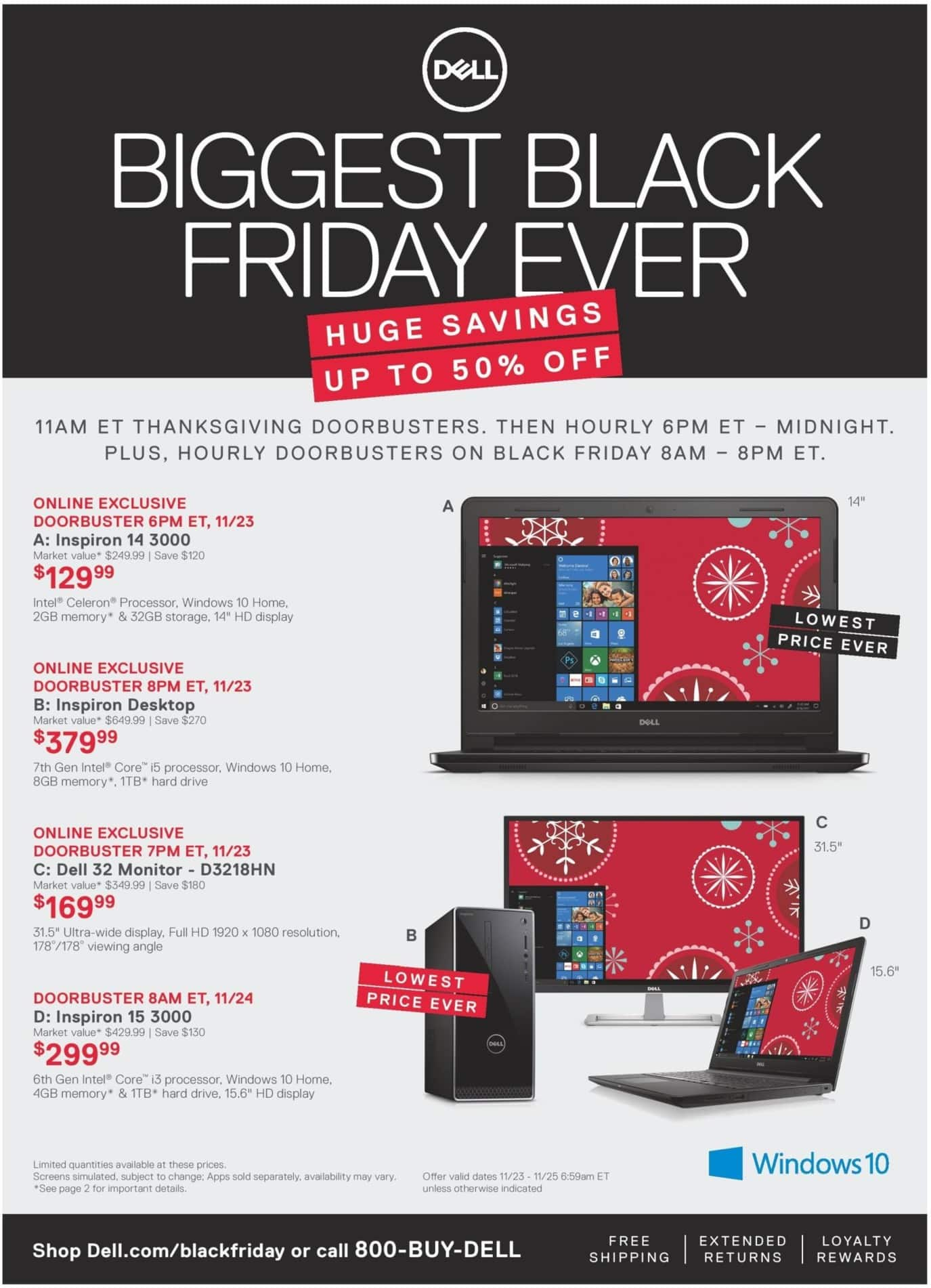 Dell Home & Office Black Friday 2017 Ad Scans | Slickdeals