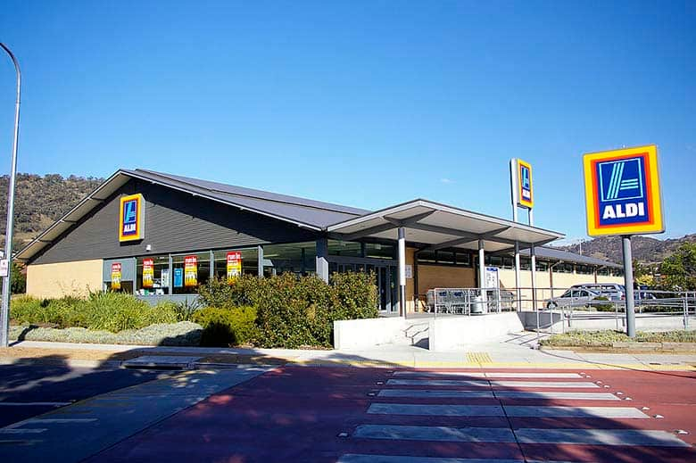 Aldi supermarket in Australia