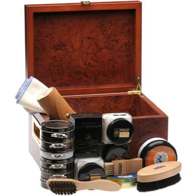 Men's Dress Shoe Shine and Polish Kit