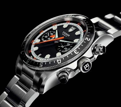 Tudor chronograph racing watch