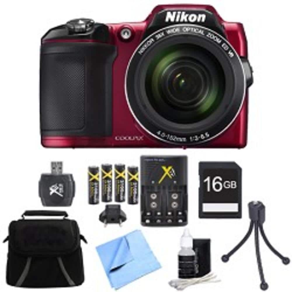 Nikon Coolpix L840 and gear