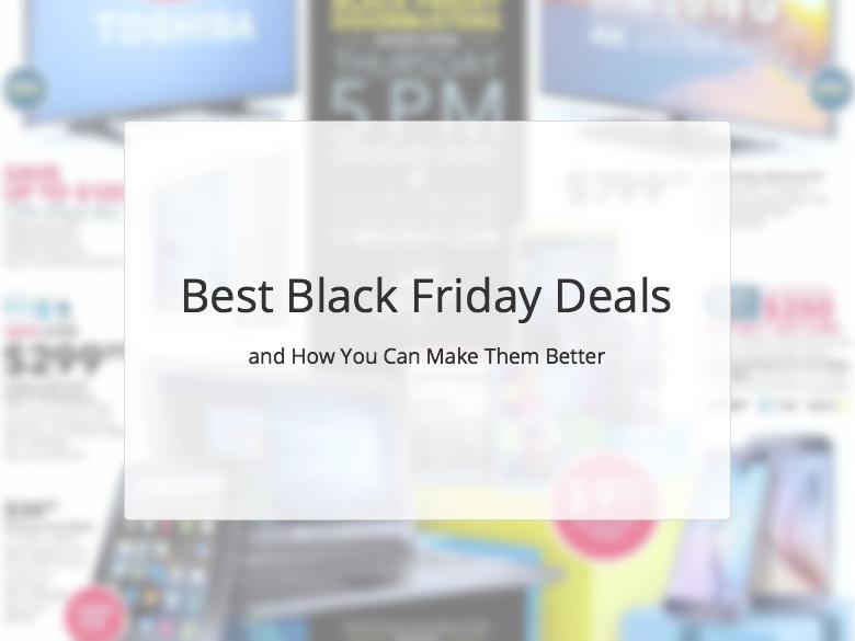 Best Black Friday Deals 2015