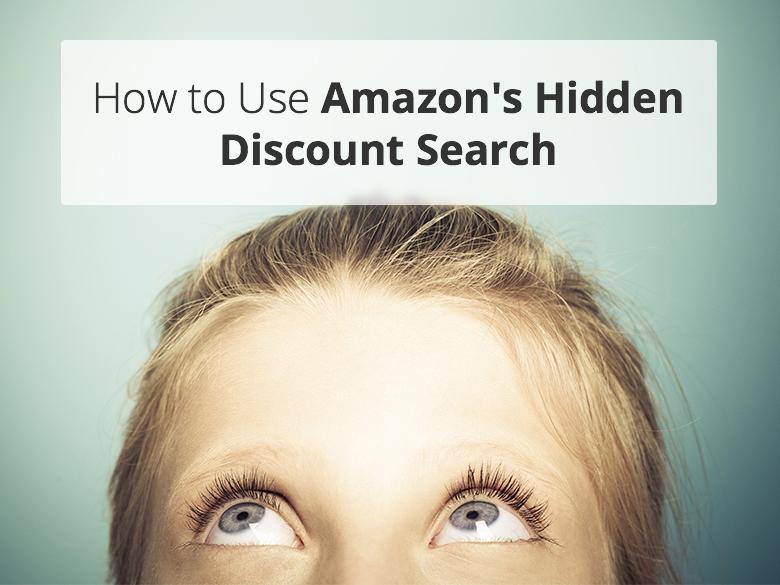 amazon, discounts, custom search, discount search