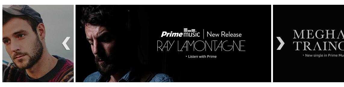 Prime Music Banner