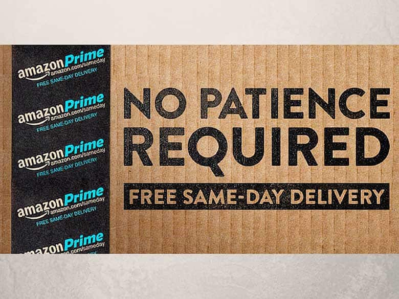 Amazon Same Day Delivery