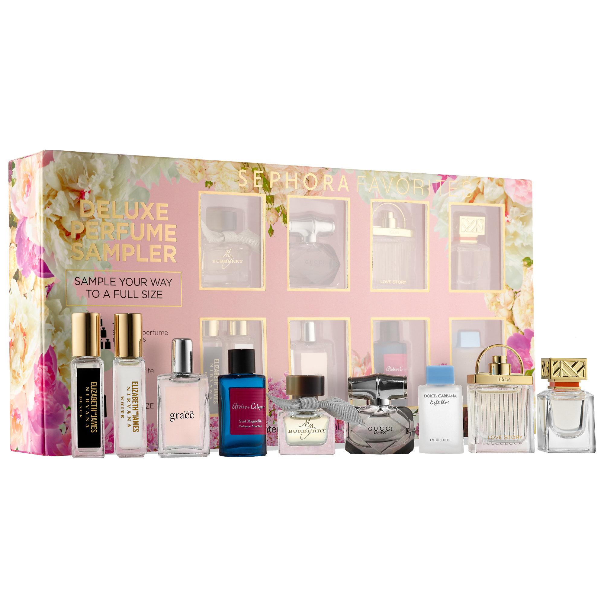 Sephora Deluxe Perfume Sampler