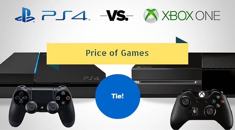 xbox one vs ps4 games