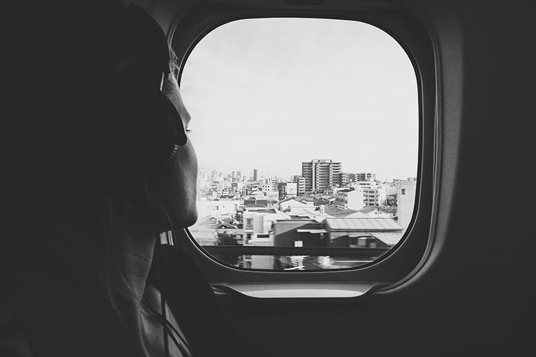 traveling, air plane