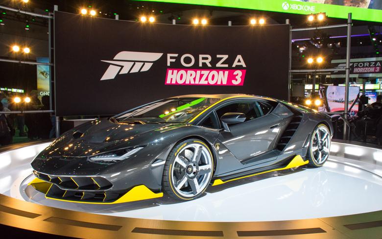 Lamborghini Centenario Forza Horizon 3 E3 2016